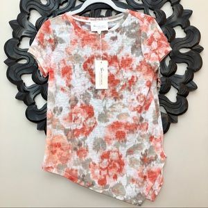 Two by Vince Camuto NWT Tie Dye Asymmetrical Top